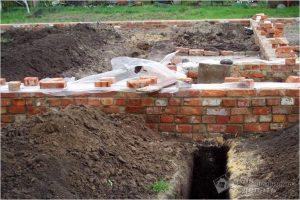 Фундамент из кирпича своими руками — строительство кирпичного фундамента