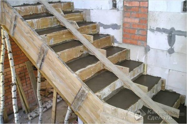 Как сделать опалубку для лестницы — строительство лестничной опалубки