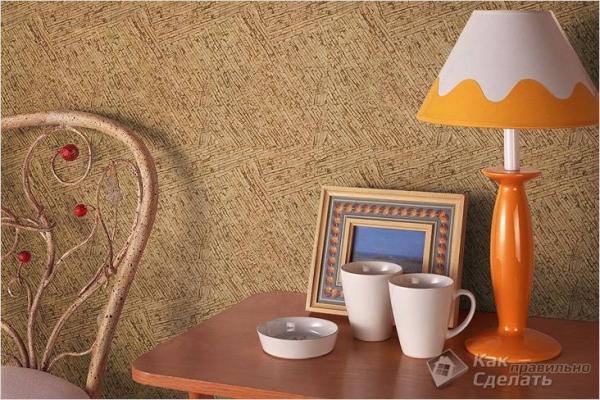 Как клеить пробку на стены — технология оклеивания стен пробкой (+ фото)