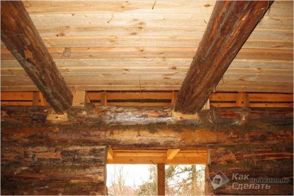 Как сделать черновой потолок — устройство потолка
