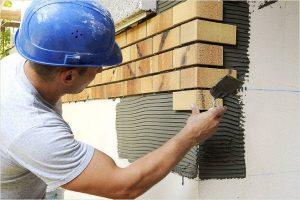 Как класть клинкерную плитку на стену, ступеньки, цоколь — укладка клинкера