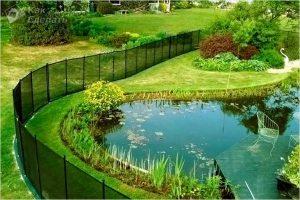 Как выбрать садовую сетку для забора — особенности выбора пластиковой сетки