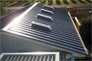 Как покрыть крышу металлопрофилем своими руками — кроем крышу профнастилом
