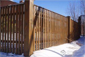 Как сделать забор из штакетника — монтаж штакетника