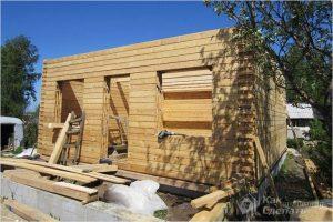 Дом из бруса своими руками — как построить брусовой дом (+фото)