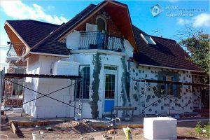 Утепление фасада пенопластом своими руками — как утеплить фасад дома + фото