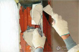 Как штукатурить углы стен — оштукатуривание углов