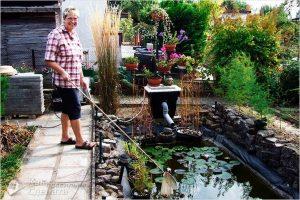 Как почистить пруд своими руками на даче — от ила, от водорослей