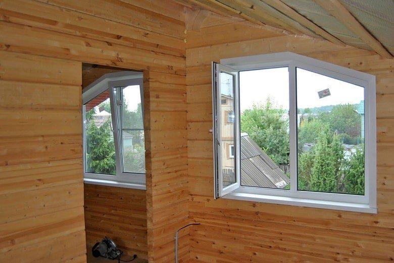 Инструкция по выбору и установке окна ПВХ на даче